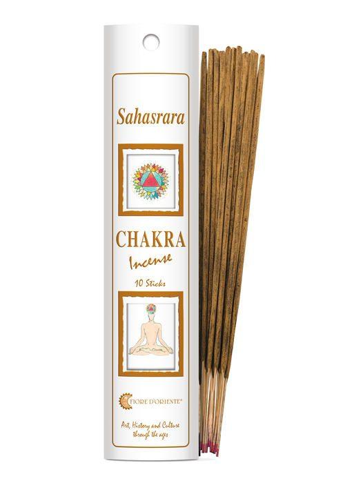 sahasrara incenso chakra il fiore doriente