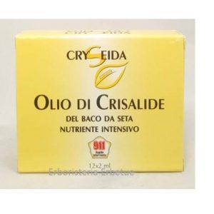 cryseida olio crisalide baco seta  1