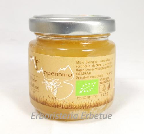 erboristeria erbetue miele biologico millefiori 125gr