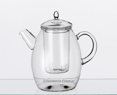 erboristeria erbetue teiera inge vetro filtro