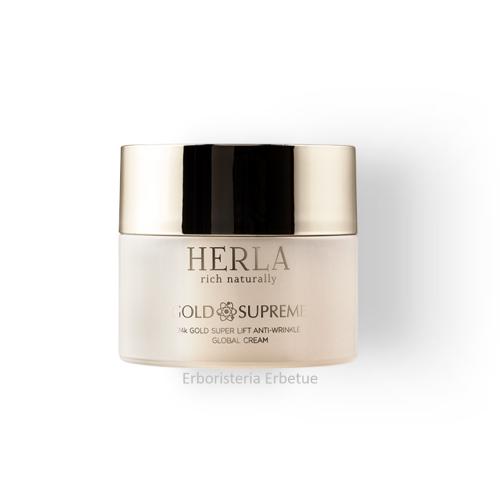 herla gold supreme 24k crema viso giorno antirughe lifting