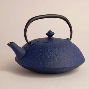 japan design teiera ghisa blu r1134