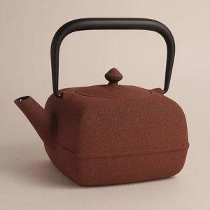 japan design teiera ghisa wazuqu yoho rossa jd1182 2