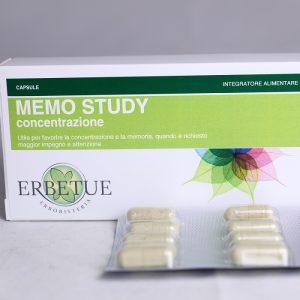 memo study concentrazione erboristeria erbetue modena