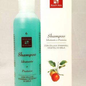 sistema natura shampoo idratante proteico