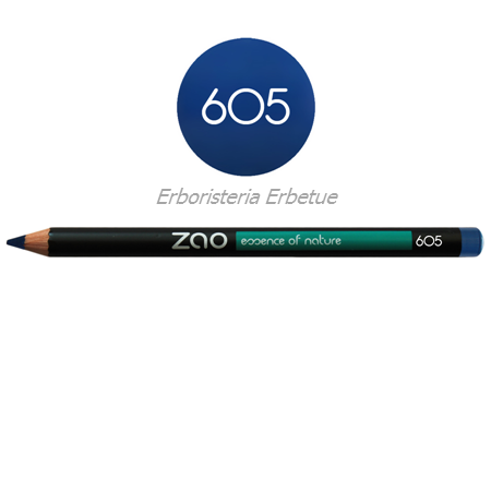 zao 605 matita eye liner occhi blu