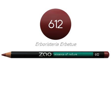 zao 612 matita occhi labbra sopracciglia bordeaux