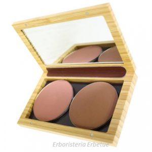 zao makeup box bamb  magnetica piccola trousse ombretti fard