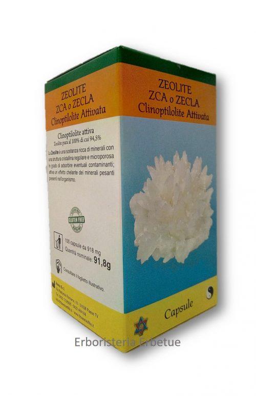 zeolite  zca zecla clinoptilotite attivata erbetue erboristeria modena