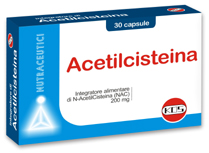 acetilcisteina 30cprs kos