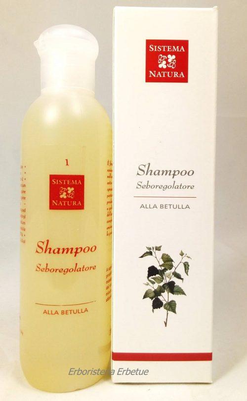 sistema natura shampoo seboregolatore capelli grassi