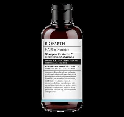 shampoo idratante bioearth