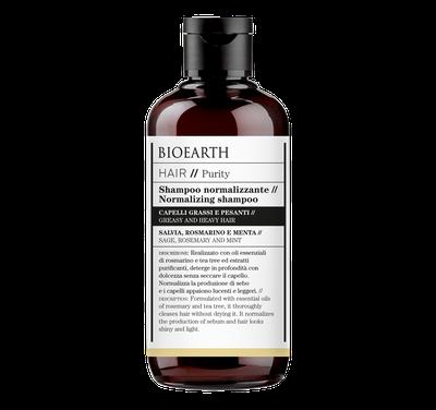 shampoo normalizzante bioearth