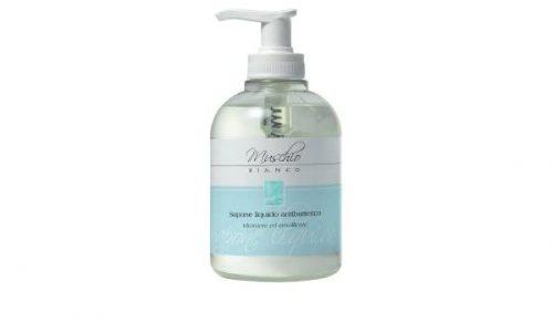 sapone liquido muschio bianco