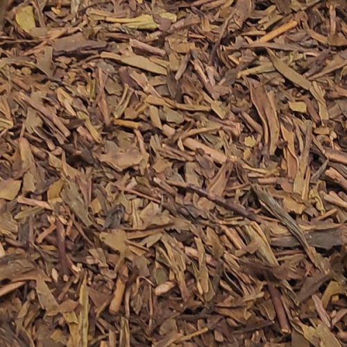te verde houjicha bancha foglie erboristeria erbetue